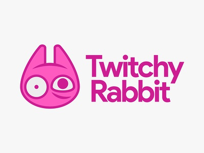 Day 3, Thirty Logos. Twitchy Rabbit thirtylogoschallenge thirtylogos thirty logos logo design logo design branding