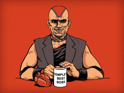 Temple's Best Boss