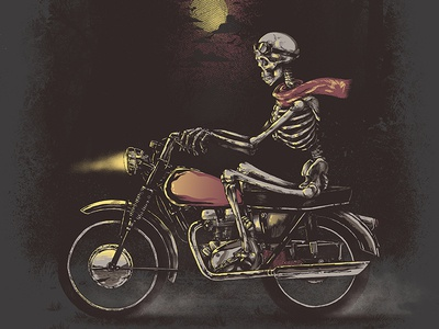 Death Rides in The Night