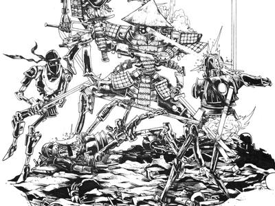 Samurai Robot WIP
