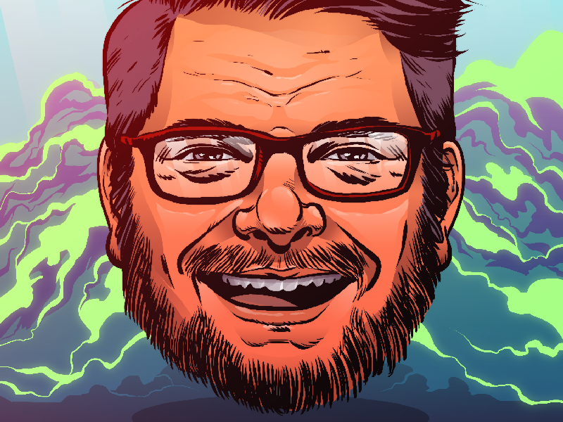 New personal avatar color intuos photoshop illustration