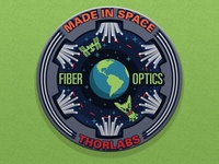 Fiber Optics Patch - Made in Space