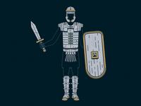 Full Set of the Armor of God
