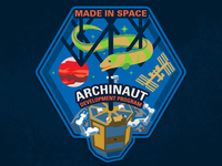 Archinaut Space Mission Patch