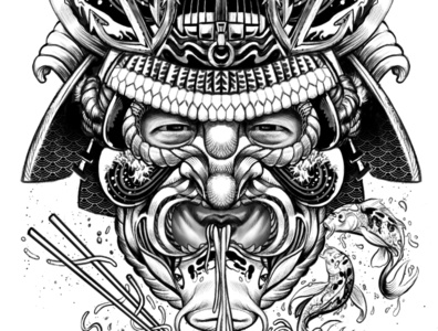 Nautical Noodle Samurai
