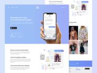 Style-At-Iz Landing Page