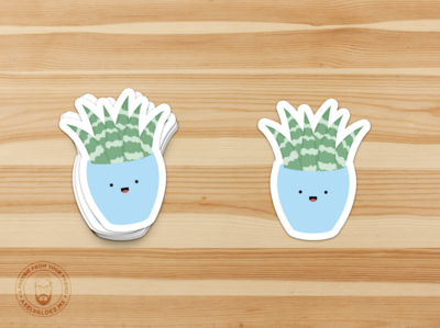 Succulent stickers!!