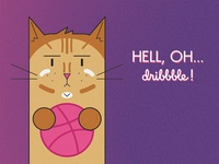 Hell, oh... dribbble!