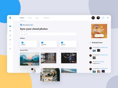 SyncDash - Upload&Sync Files