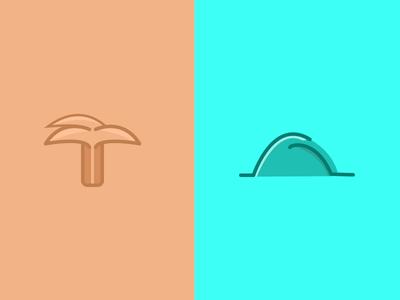 Coastline Icons