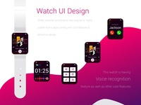 Smart Watch UI Design