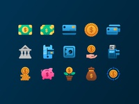 Finance Icons design