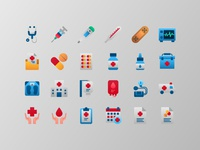 Medical and Health icons