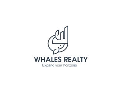 Whales Reality Logo