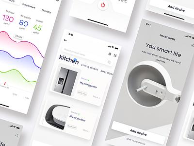Smart home app smart home clean app