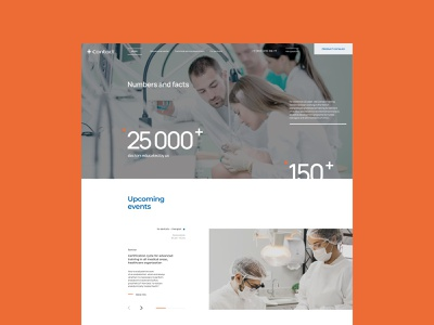 Contact,  dental equipment uiux userinterface cleandesign chipsa dental equipment online store clean website ui ux