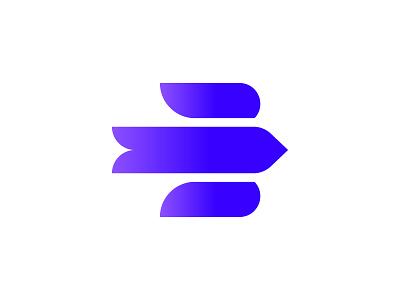 Earlybird Logo birdlogo bluelogo colorfullogo gradient geometrical minimallogo logodesign logo branddesign brand branding