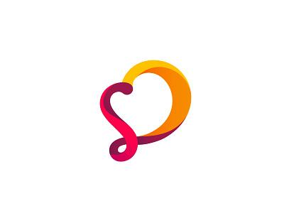 [Logo design] Sal+Doce monogram colorfullogo gradient geometrical minimallogo logodesign logo branddesign brand branding