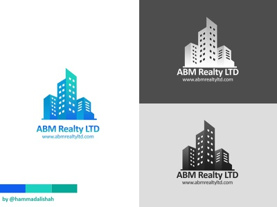 ABM Realty LTD brand identity design redesign real estate logo realestate branding logo design