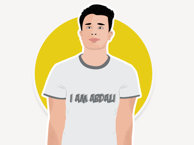 Daniyal Abdali Vector Portrait illustration art portrait illustration portrait art portrait vector illustration