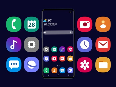 Galaxy S10 Mockup and Icons Pack samsung ui galaxy ui icons galaxy ui s10 ui mockup galaxy s10 mockup s10 mockup mockup psd s10 icons ui icons icons design icons pack samsung galaxy s10