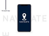 Navigate App Design I By Mayank Chauhan