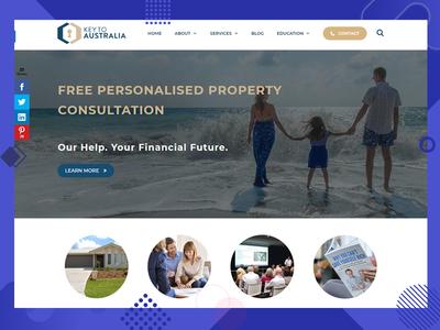 Key Australia Design ux development developer branding website ui design color ui combination design
