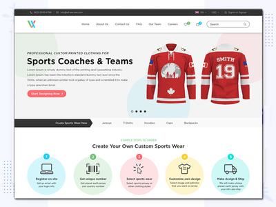 All We Are Website Design website ui design ux branding typography css clean combination color design