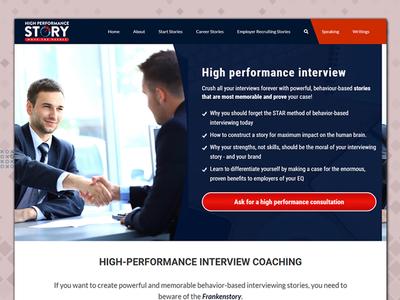 High Performance Storry typography logo branding website ui design ui color combination design