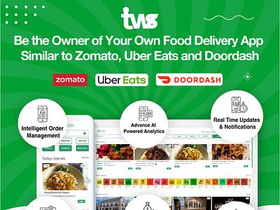 Food Delivery App illustration branding logo ui design ui combination color design