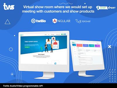 ChatXpert website developer website development ui design color combination design