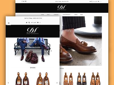 Don Morphy - Home Page pages queries media landing development developer css combination color clean