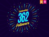 Celebration of a 362 followers