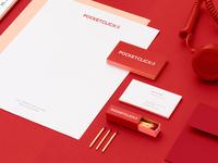 Pocket Click branding material