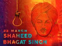 Shaheed Bhagat Singh (23 March 1931)