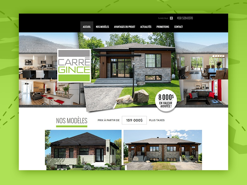 Create Carregince Web Design website responsive pages inner html development developer css combination color