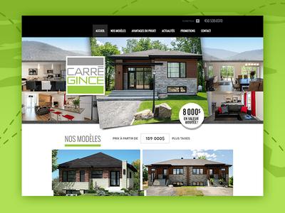 Create Carregince Web Design