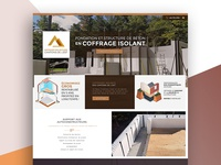 Create Coffragesisolants Web Design