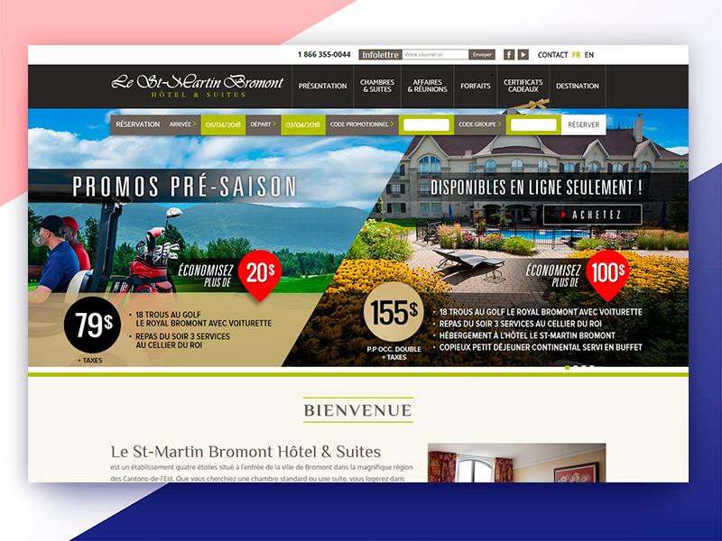 Create Lestmartinbromont Web Design website pages inner html development developer css combination color