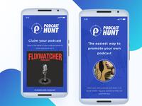 Podcast Hunt - App Design