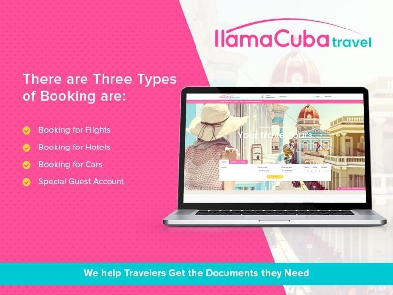 Llamacuba Travel Design ui design developer typography responsive clean design combination color