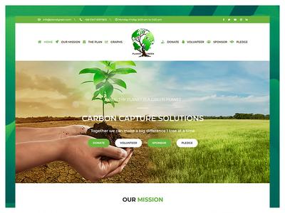Global Warming website development color ui developer responsive css combination design