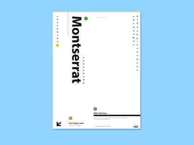 Montserrat - A Google font