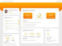 Principal dashboard design..