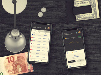 Personal Capital Manager investments foreign exchange crypto wallet fintech mexico guadalajara itexico mobile design ui design