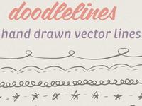 Doodlelines - Hand Drawn Line Set