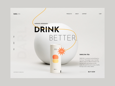 Product Website Header Exploration typography minimal design ux ui inspiration ito interactive ito studio ito ito design team website header portfolio landing page exploration product design designer digital designer product
