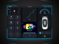 Tesla Model 3 UX UI