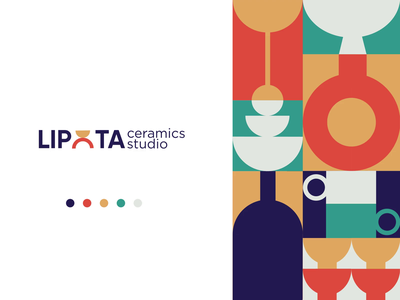 Branding for ceramics studio illustration motion graphics gif design after effect animation logo branding graphic design