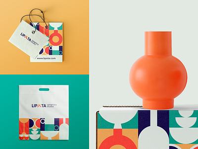 Branding for ceramics studio logo branding illustrator illustration design